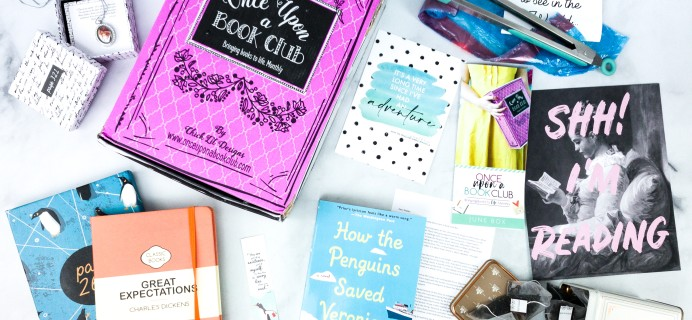 Once Upon a Book Club June 2020 Subscription Box Review + Coupon – Adult Box