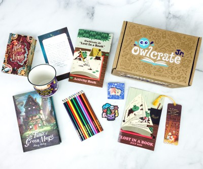 OwlCrate Jr. July 2020 Box Review & Coupon – LOST IN A BOOK