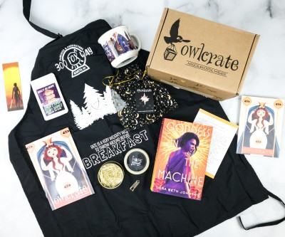OwlCrate July 2020 Subscription Box Review + Coupon – DATE WITH DESTINY