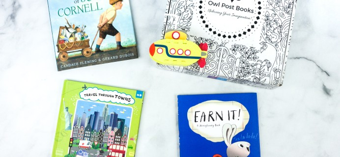 Owl Post Books Imagination Box July 2020 Subscription Box Review + Coupon
