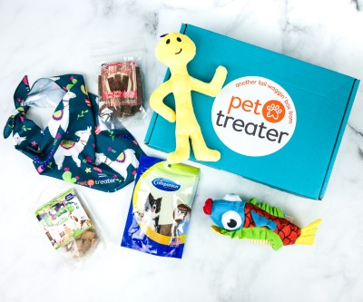 Pet Treater Deluxe Dog Pack July 2020 Subscription Box Review + Coupon