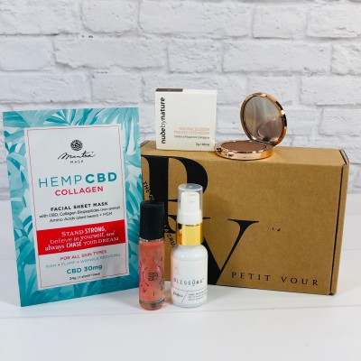 Petit Vour July 2020 Subscription Box Review & Coupon