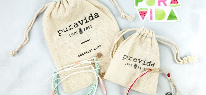 Pura Vida Bracelets Club July 2020 Review + Coupon!