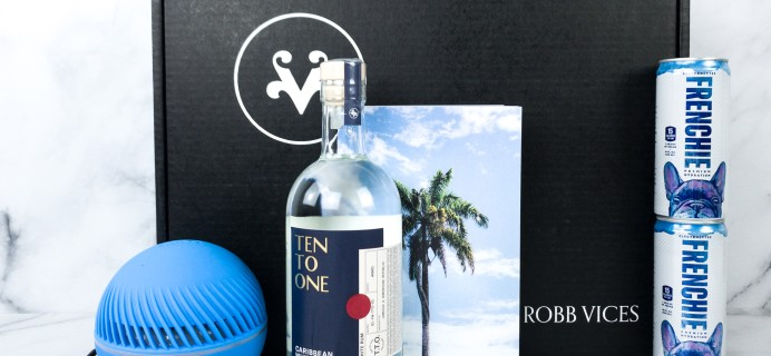Robb Vices July 2020 Subscription Box Review