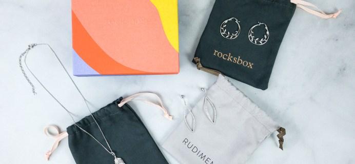 RocksBox July 2020 Review + FREE Month Coupon!
