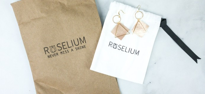 Roselium July 2020 Subscription Box Review + Coupon