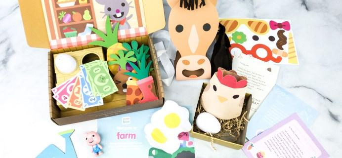 Sago Mini Box July 2020 Subscription Box Review + Coupon – FARM