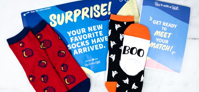 Say It With A Sock Kids July 2020 Sockscription Review + Coupon
