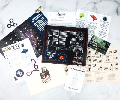 Sleuth Kings Subscription Box Review + Coupons – Case 201 ABDUCTED