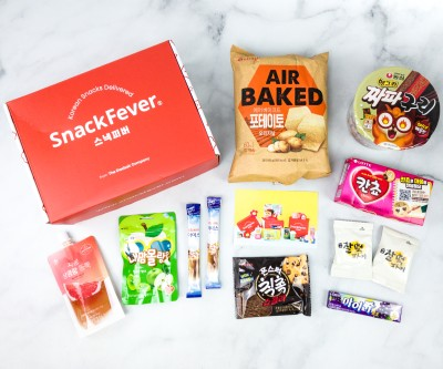 Snack Fever August 2020 Subscription Box Review + Coupon – Original Box!
