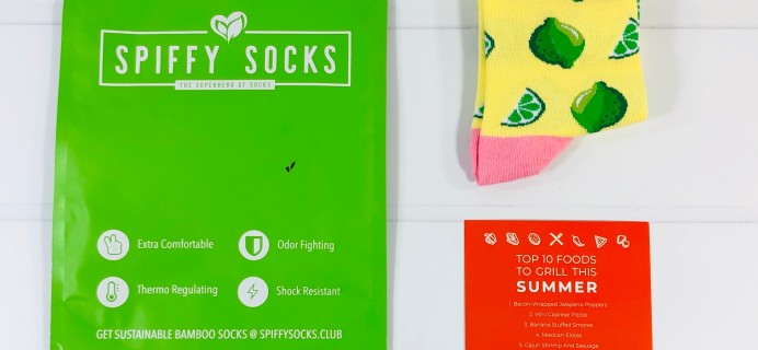 Spiffy Socks June 2020 Subscription Box Review  + Coupon