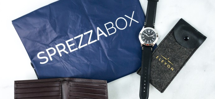 SprezzaBox July 2020 Subscription Box Review + Coupon