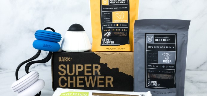 Super Chewer July 2020 Subscription Box Review + Coupon!