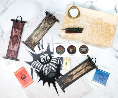 Loot Crate's The Elder Scrolls Crate May 2020 Review + Coupon – RIVALRY