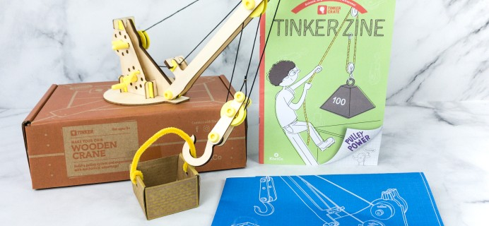 KiwiCo Tinker Crate Review & Coupon – WOODEN CRANE