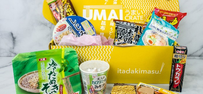 Umai Crate May 2020 Subscription Box Review + Coupon