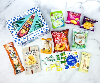 Universal Yums Subscription Box Review + Coupon – THAILAND