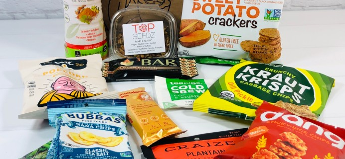 Vegancuts Snack Box July 2020 Subscription Box Review + Coupon