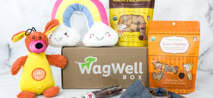 WagWell Box July 2020 Subscription Box Review
