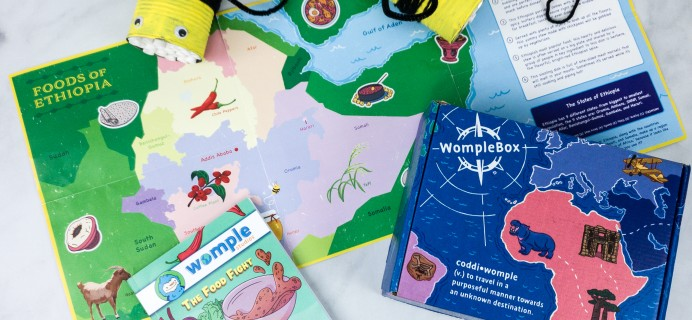 WompleMail Kids Subscription Box Review + Coupon – ETHIOPIA