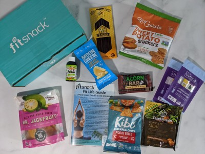 FitSnack July 2020 Subscription Box Review