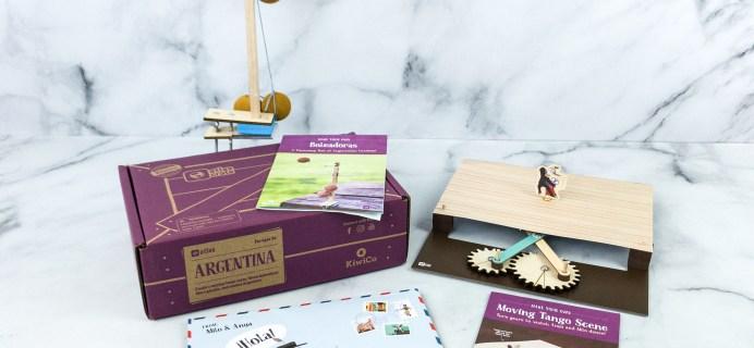 KiwiCo Atlas Crate Review & Coupon – ARGENTINA