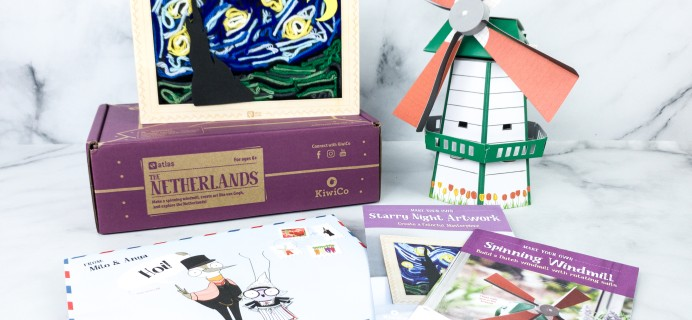 KiwiCo Atlas Crate Review & Coupon – THE NETHERLANDS