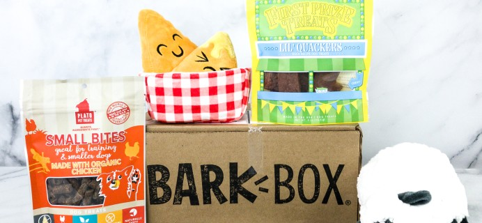 Barkbox August 2020 Subscription Box Review + Coupon