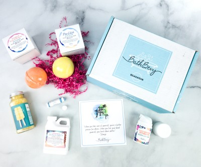 Bath Bevy August 2020 Subscription Box Review + Coupon