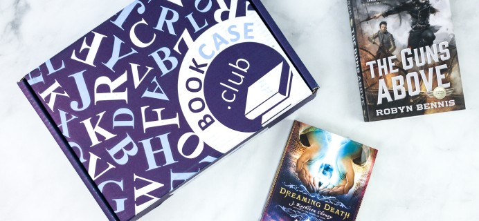 BookCase Club August 2020 Subscription Box Review & Coupon – STRANGE WORLDS