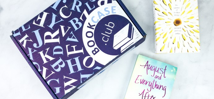BookCase Club August 2020 Subscription Box Review & Coupon – TEENAGE DREAMS