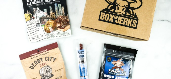 Box Of Jerks August 2020 Subscription Box Review