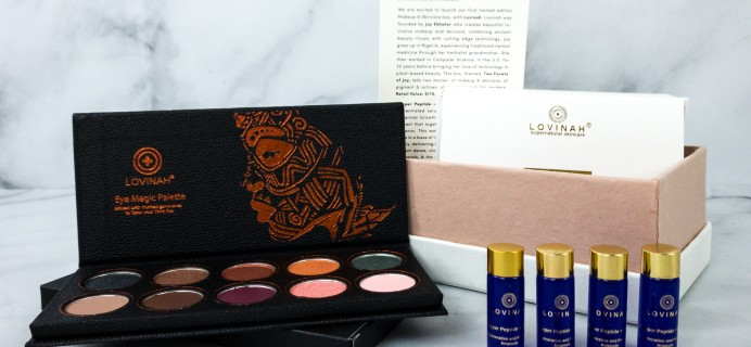 """Boxwalla """"Two Facets of Joy"""" Limited Edition Box Review"""