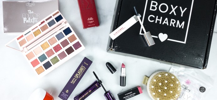 BOXYCHARM Premium August 2020 Review