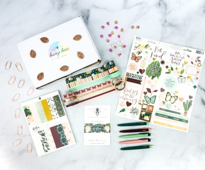 Busy Bee Stationery August 2020 Subscription Box Review