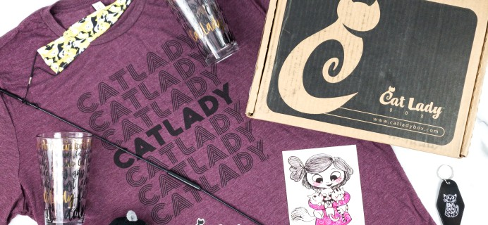 Cat Lady Box August 2020 Subscription Box Review – CAT LADY LIFE