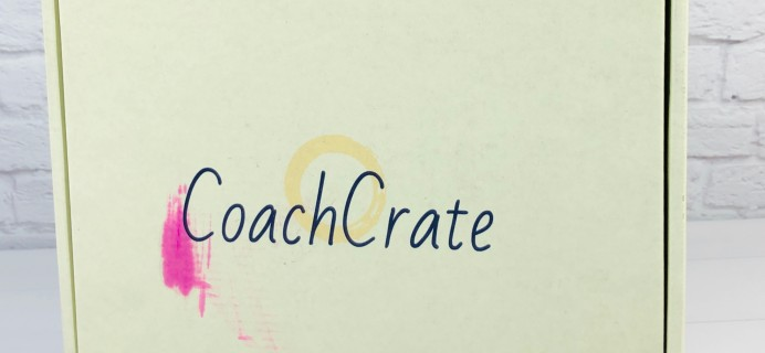 CoachCrate August 2020 Subscription Box Review + Coupon