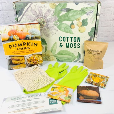 Cotton & Moss Fall 2020 Subscription Box Review