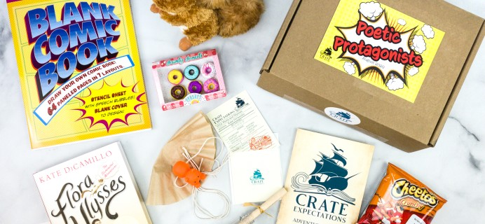 Crate Expectations August 2020 Subscription Box Review + Coupon – POETIC PROTAGONISTS