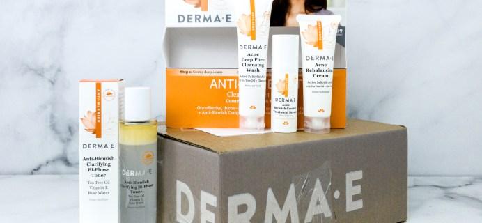 Derma-E ANTI ACNE SET Review