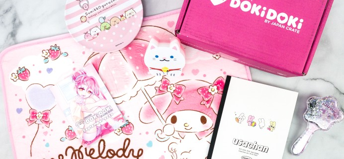 Doki Doki September 2020 Subscription Box Review & Coupon