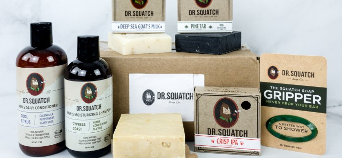 Dr. Squatch Subscriptions Review + Coupons – Squatch Groomed Bundle!