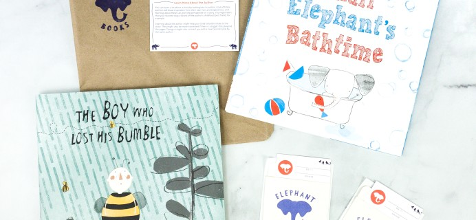 Elephant Books August 2020 Subscription Box Review – PICTURE BOOKS