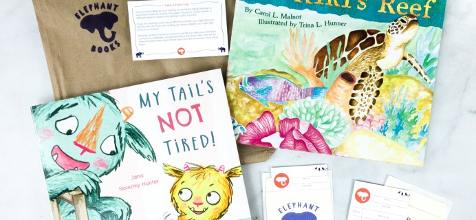 Elephant Books July 2020 Subscription Box Review – PICTURE BOOKS