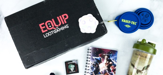 Equip by Loot Gaming June 2020 Subscription Box Review  – OUTDOORS