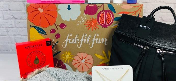 FabFitFun Fall 2020 Box Review + Coupon  – MEMBERS PICKS
