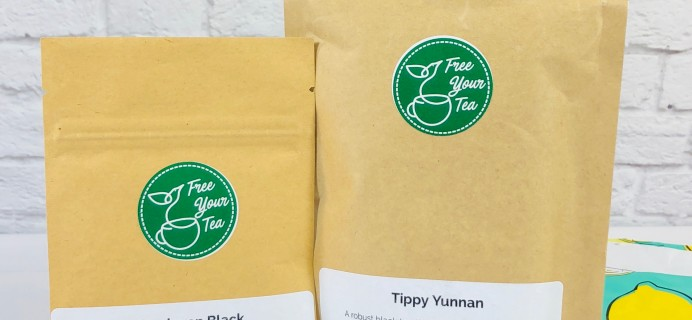 Free Your Tea August 2020 Subscription Box Review + Coupon