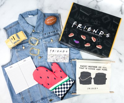 FRIENDS Subscription Box Summer 2020 Review!