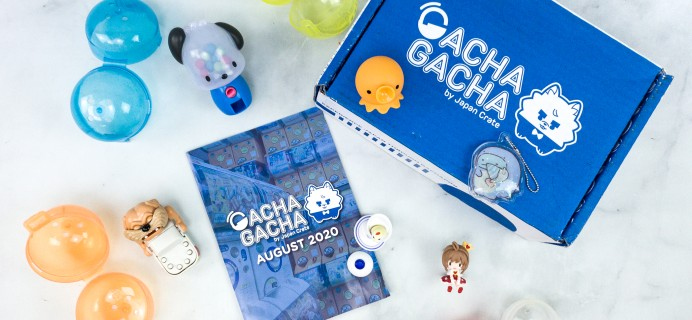 Gacha Gacha Crate August 2020 Subscription Box Review + Coupon