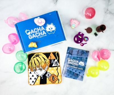 Gacha Gacha Crate September 2020 Subscription Box Review + Coupon